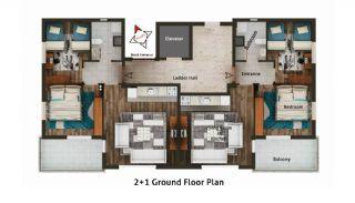 Buzkıran Residence 2, Kat Planları-1
