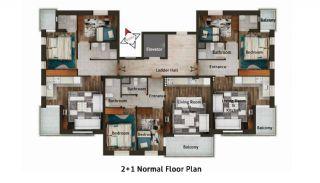 Buzkıran Residence 2, Kat Planları-2