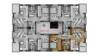 Kubilay City Evleri, Kat Planları-1