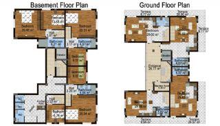 Komple Satılık Bina, Kat Planları-1