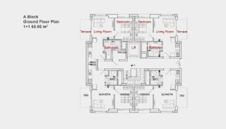 Резиденция Дворец, Планировка -1