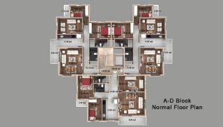 Spacious Apartments in the Deluxe Complex in Antalya, Property Plans-2