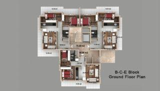 Kepez'de Satılık Evler, Kat Planları-3