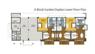Luxus neue Wohnungen in Konyaalti, Immobilienplaene-1