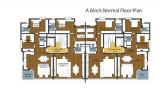 Luxus neue Wohnungen in Konyaalti, Immobilienplaene-3