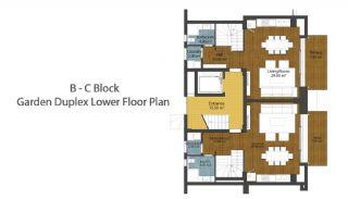 Luxus neue Wohnungen in Konyaalti, Immobilienplaene-4