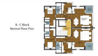 Luxus neue Wohnungen in Konyaalti, Immobilienplaene-6