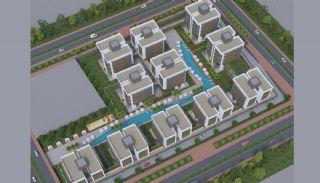 Купить Новую Квартиру в Коньяалты, Планировка -4