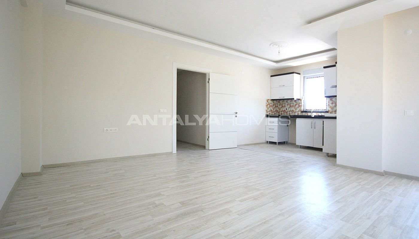 New cheap apartment for sale in antalya with kitchen for Cheap apartments