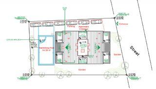Nybyggda Lägenheter i Antalya Turkiet, Planritningar-1