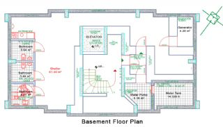 Nybyggda Lägenheter i Antalya Turkiet, Planritningar-2