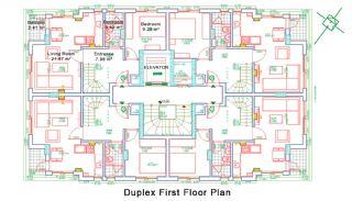 Nybyggda Lägenheter i Antalya Turkiet, Planritningar-5