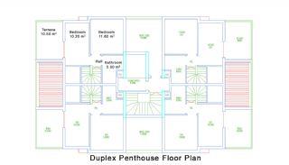 Nybyggda Lägenheter i Antalya Turkiet, Planritningar-6