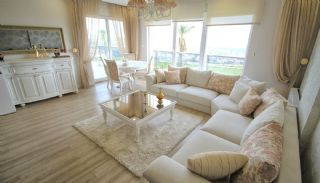 Appartementen in Antalya met Panoramisch Stad en Zeezicht, Interieur Foto-1