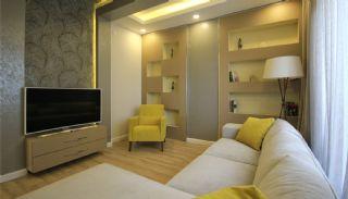 Wohnungen in Antalya mit Panorama Stadt und Meerblick, Foto's Innenbereich-17