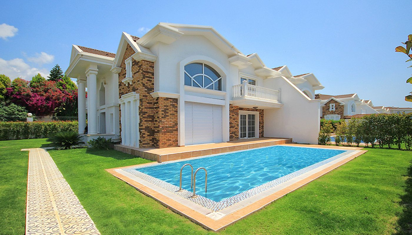 Luxury villas in turkey antalya with private swimming pool for Well designed homes