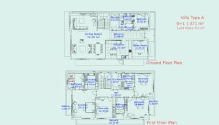 Detached Villas with Biological Swimming Pool in Antalya, Property Plans-2