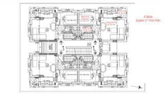 شقق حديثة البناء في انطاليا مزودة بأدوات المطبخ, مخططات العقار-3