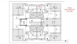 شقق حديثة البناء في انطاليا مزودة بأدوات المطبخ, مخططات العقار-4