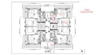 شقق حديثة البناء في انطاليا مزودة بأدوات المطبخ, مخططات العقار-9