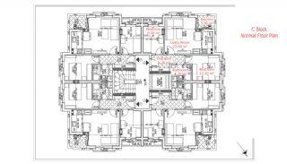 شقق حديثة البناء في انطاليا مزودة بأدوات المطبخ, مخططات العقار-10