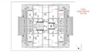 شقق حديثة البناء في انطاليا مزودة بأدوات المطبخ, مخططات العقار-12