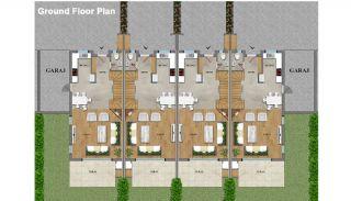 Eye-Catching Duplex Villas in a Luxury Complex of Antalya, Property Plans-1