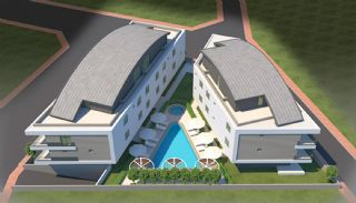 Modern Ontworpen Luxe Turkije Appartementen in Antalya, Antalya / Lara - video
