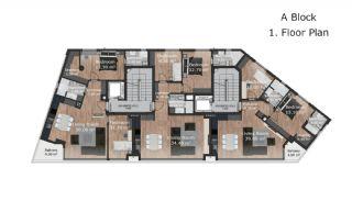 Роскошные Современные Квартиры в Турции, Анталия, Планировка -2