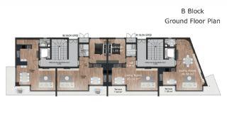 Güzeloba Mahallesinde Satılık Sıfır ve Modern Daireler, Kat Planları-5