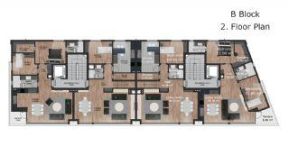 Роскошные Современные Квартиры в Турции, Анталия, Планировка -7