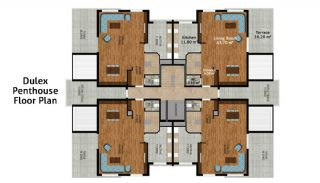 Luxury and Quality Designed Apartments in Konyaalti Antalya, Property Plans-3