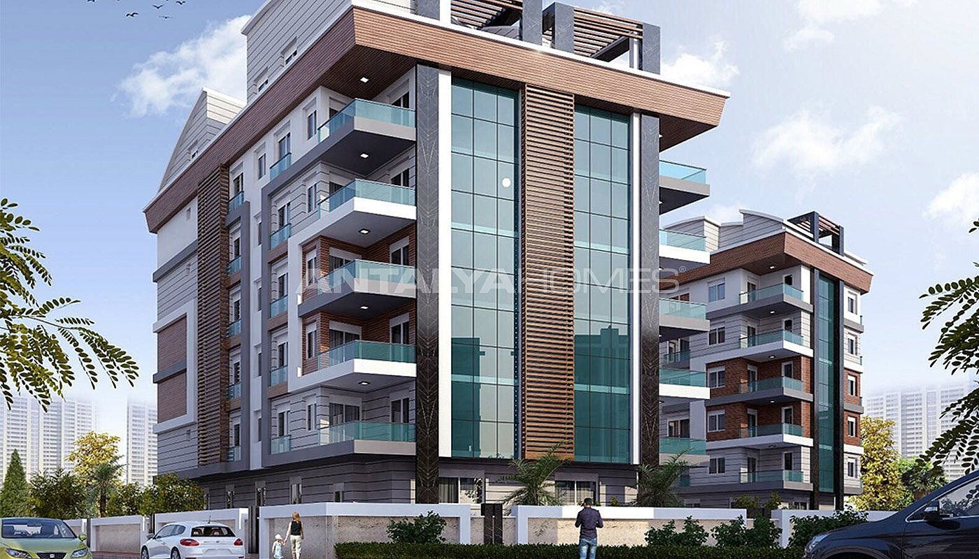 Konyaalti Apartments Equipped With Underfloor Heating