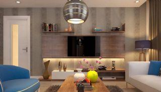 Helt Nya Rymliga Lägenheter i Antalya Turkiet, Interiör bilder-2