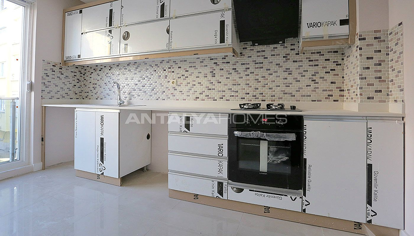 New built antalya apartments close to the all amenities for Kitchen amenities list
