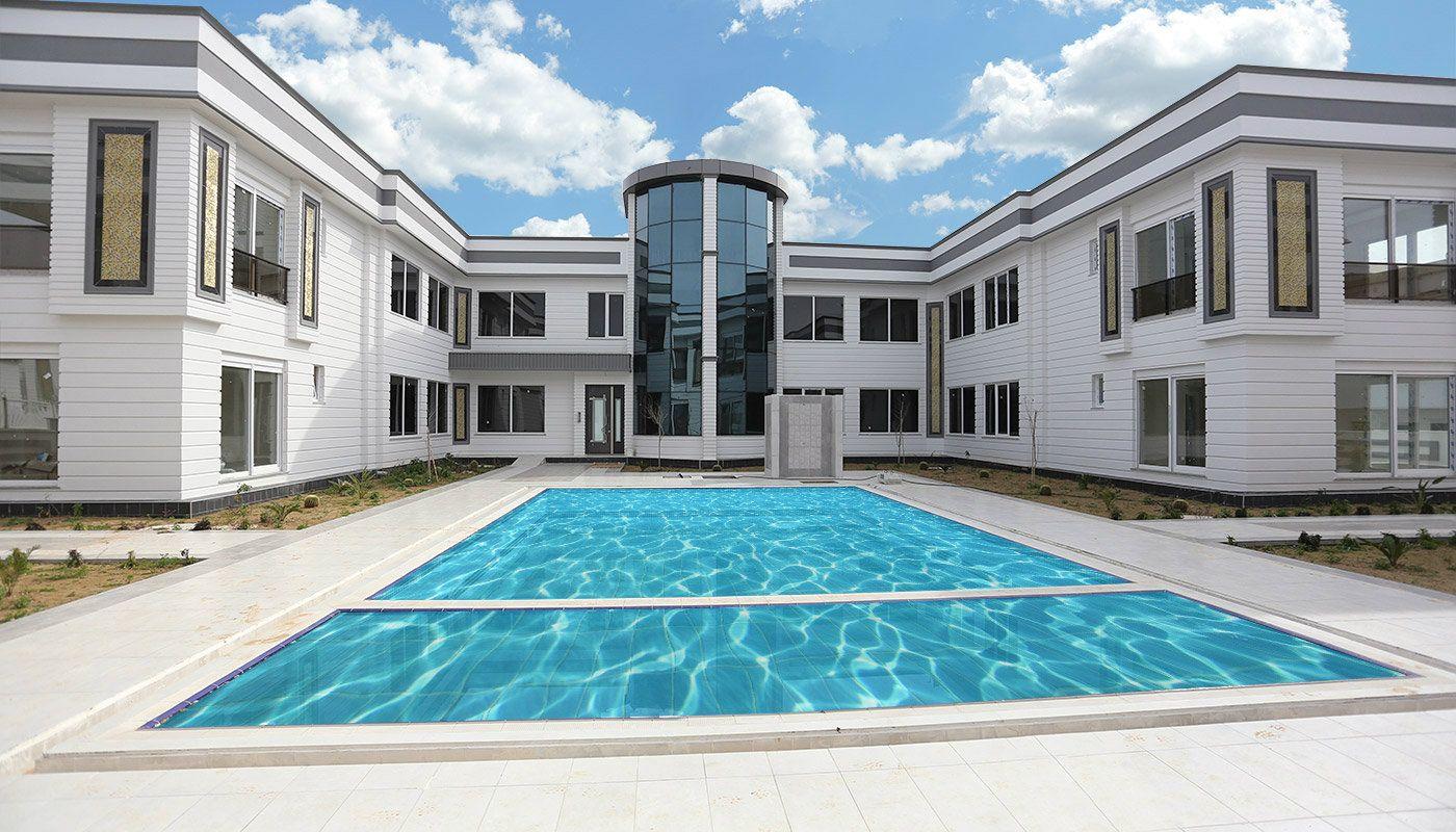 Neue gebaute Wohnungen mit Schwimmbad in Antalya