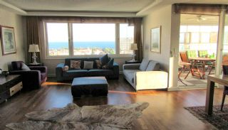 آپارتمان دوبلکس با شکوه 5+1 با منظره دریا در آنتالیا, تصاویر داخلی-4