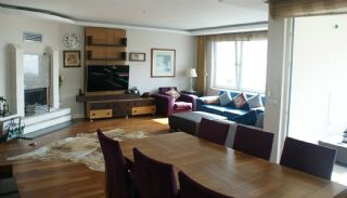 آپارتمان دوبلکس با شکوه 5+1 با منظره دریا در آنتالیا, تصاویر داخلی-5