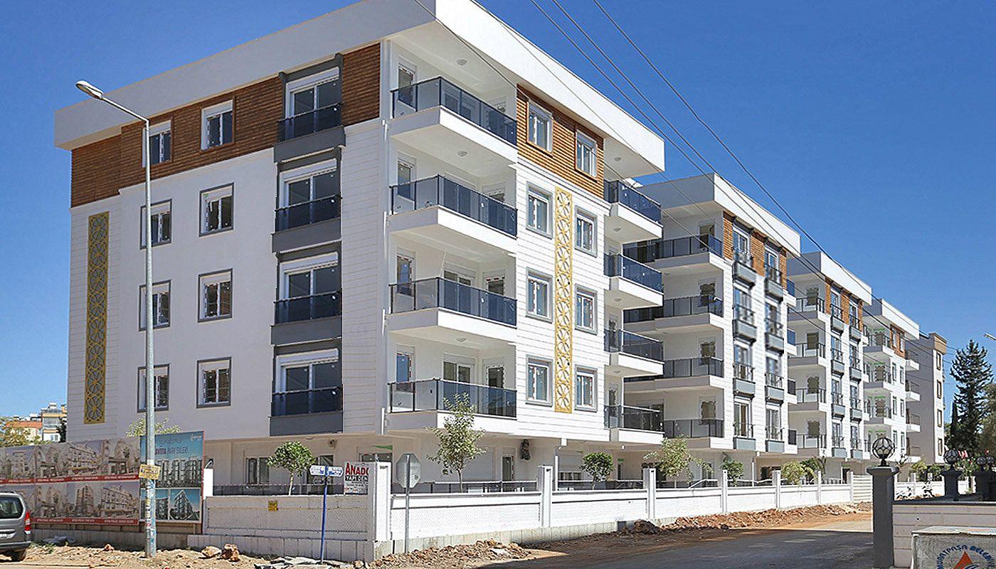 Wohnungen in Antalya in der Nähe von sozialen Einrichtungen