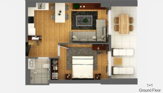 Boutique Concept Smart Homes in Antalya Turkey, Property Plans-1