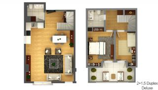 Boutique Concept Smart Homes in Antalya Turkey, Property Plans-4