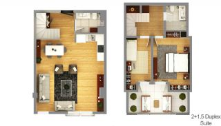 Boutique Concept Smart Homes in Antalya Turkey, Property Plans-5
