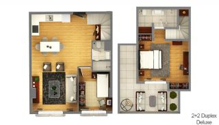 Boutique Concept Smart Homes in Antalya Turkey, Property Plans-6