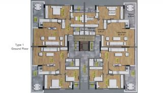High-Quality Lara Flats in the Low-Rise Complex, Property Plans-1