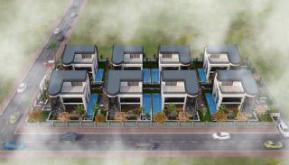 Futuristic Villas with Private Pool in Antalya Turkey, Antalya / Konyaalti - video
