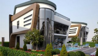 Futuristische Villas met Privé Zwembad in Antalya Turkije, Antalya / Konyaalti