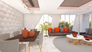 Futuristische Villas met Privé Zwembad in Antalya Turkije, Interieur Foto-4
