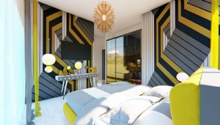 Futuristic Villas with Private Pool in Antalya Turkey, Interior Photos-7