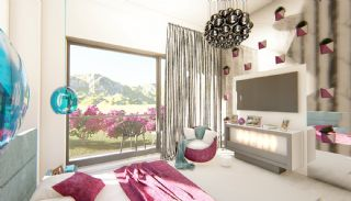 Futuristic Villas with Private Pool in Antalya Turkey, Interior Photos-11