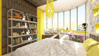 Futuristic Villas with Private Pool in Antalya Turkey, Interior Photos-12